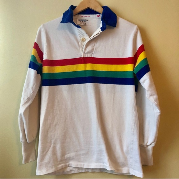 6c1db2b560d64 Vintage MAXMORE SOUTH AFRICA RUGBY Rainbow Pride
